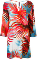 Just Cavalli palm print dress - women - Viscose - 38