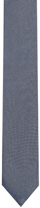 HUGO BOSS Grey Silk Tie