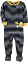 Carter's Boys' 12 Months-5T One Piece Striped Cotton Pajamas