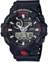 G-Shock Men's Analog-Digital Black Resin Strap Watch 57x48mm GA700-1A