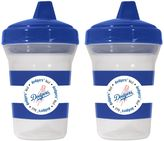 Baby Fanatic MLB Los Angeles Dodgers 2-Pack 5 oz. Sippy Cup