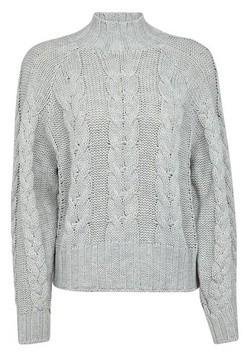 Dorothy Perkins Womens Vero Moda Grey Knit Jumper, Grey
