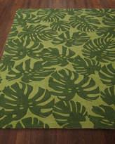 """Fond Leaf Indoor/Outdoor Rug, 5' x 7'6"""""""