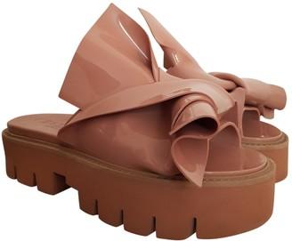 Kartell Beige Rubber Sandals