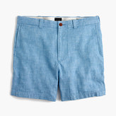 "J.Crew 7"" short in Irish herringbone linen"