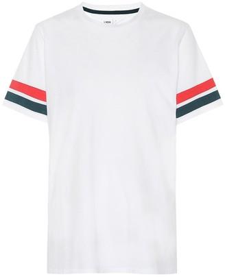 LNDR Stripe cotton jersey T-shirt