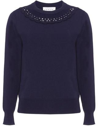 Damsel in a Dress Kora Crochet Detail Knit Jumper