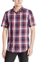 Lrg Men's Research Collection Short Sleeve Poplin Woven 2