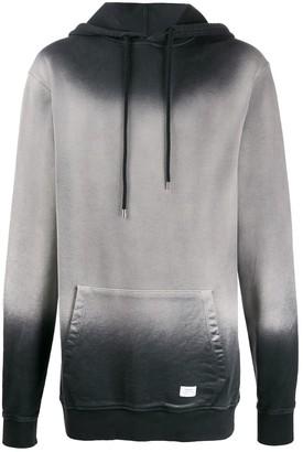 Stampd gradient-print hoodie