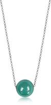 Antica Murrina Veneziana Perleadi Turquoise Murano Glass Bead Chain Necklace