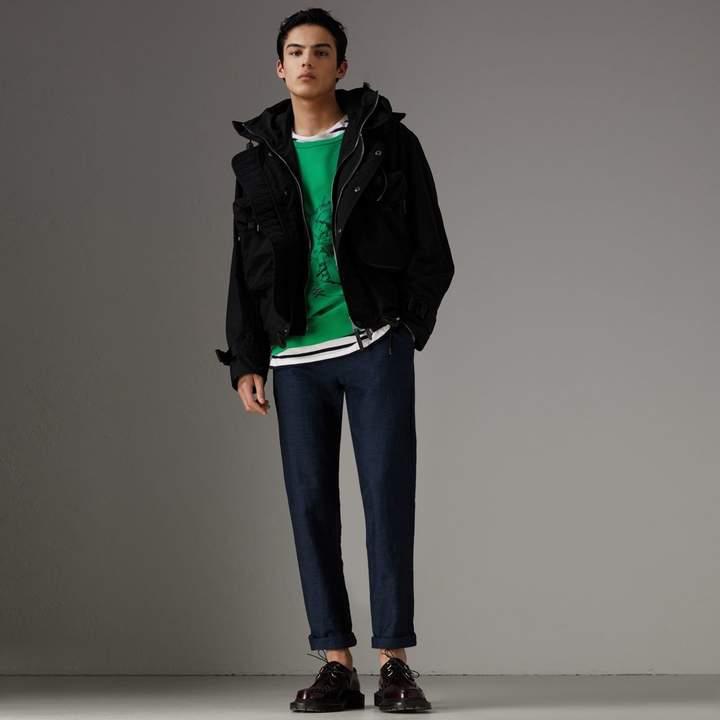 Burberry Showerproof Nylon Jacket with Gilet