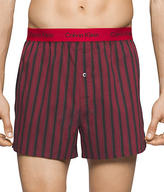 Calvin Klein Happy Holiday's Woven Boxers 3-Pack