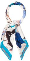 Christian Lacroix Printed Silk Scarf
