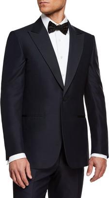 Ermenegildo Zegna Men's Silk-Lapel Wool Two-Piece Tuxedo Suit