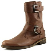 Gabor 72.794 W Round Toe Leather Mid Calf Boot.