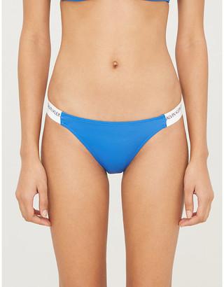 Calvin Klein logo-print bikini bottoms