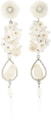 OF RARE ORIGIN Nester 18K Gold and Multi-Stone Earrings