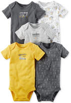 Carter's 5-Pk. Cotton Little Mister Fix It Bodysuits, Baby Boys (0-24 months)