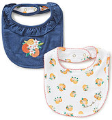 Kate Spade Baby Girls Orangerie Bib 2-Piece Set