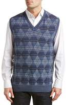 Alex Cannon V-neck Sweater Vest.