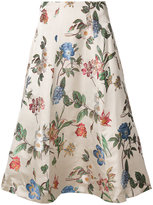 Alice + Olivia Alice+Olivia floral print skirt