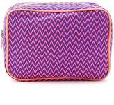 Sub - zig zag pattern make-up bag - women - Nylon - One Size