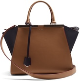 Fendi 3Jours contrast-panel leather tote