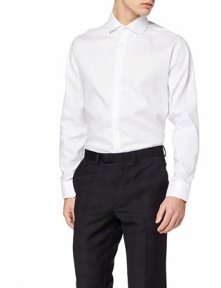 Seidensticker Men's Herren Business Hemd Shaped Fit Bugelfreies Formal Shirt