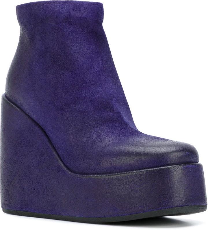Marsèll platform wedge boots