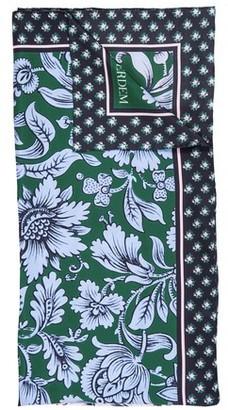 Erdem Flower print silk scarf