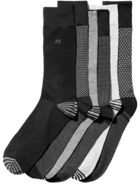 Perry Ellis Men's 6-Pk. Herringbone Dress Socks