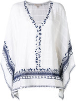MICHAEL Michael Kors embroidered sequins tunic - women - Cotton/Polyester - L