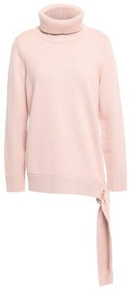 MICHAEL Michael Kors Belted Knitted Turtleneck Sweater
