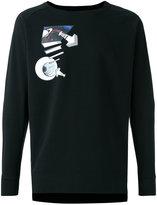 Y-3 warm hole print sweatshirt - men - Cotton - S