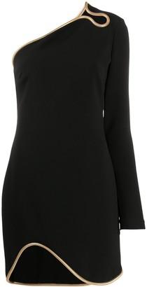 Stella McCartney Dianna one-shoulder cocktail dress