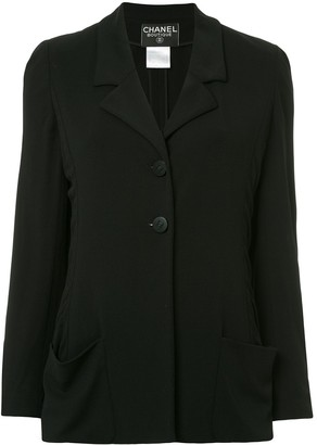Chanel Pre Owned Classic Blazer