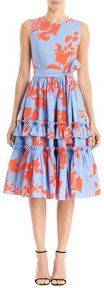 Carolina Herrera Sleeveless A-Line Dress