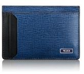 Tumi Monaco Textured Leather Money Clip Card Case