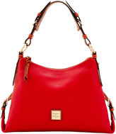 Dooney & Bourke Pebble Grain Small East West Slouch