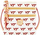 Dooney & Bourke NCAA Virginia Tech Triple Zip Crossbody