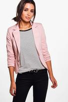 Boohoo Lexi Lined Button Tailored Blazer