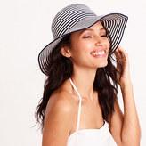 J.Crew Factory Striped cotton sun hat