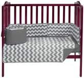 Babydoll Baby Doll Chevron Dot Port-A-Crib Bedding Set