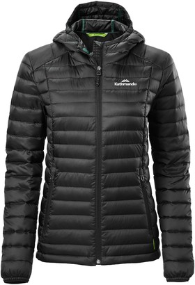 Kathmandu Heli Womens 600 Fill Hooded Lightweight Down Jacket