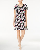 Charter Club Printed Cotton Knit Sleepshirt, Only at Macy's