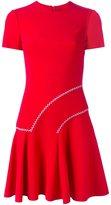 Versace stitch jersey mini dress