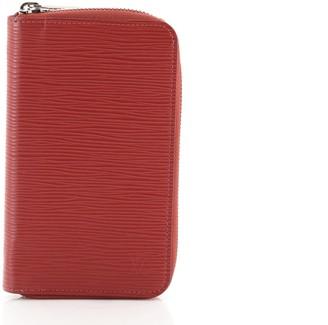 Louis Vuitton Zip Organizer Wallet Epi Leather