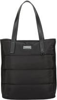 Consigned Garner Line Quilt Tote Bag Black