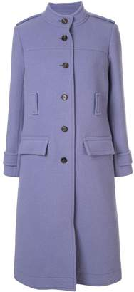 Chloé belted single-breasted coat