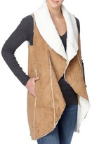 Catherine Malandrino Women's Leonide Faux Shearling Vest